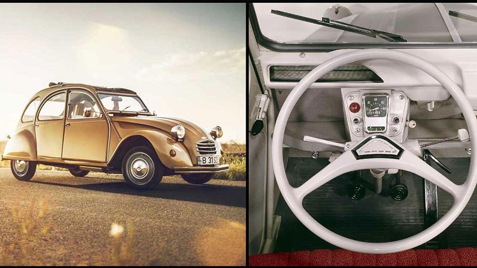 Το Citroën 2CV, στην εποχή του, έφερε την επανάσταση στην αυτοκινητοβιομηχανία και στην κοινωνία δείχνοντας το δρόμο στην κατασκευή οικονομικών, δημοφιλών και ταυτόχρονα πολυτάλαντων αυτοκινήτων.