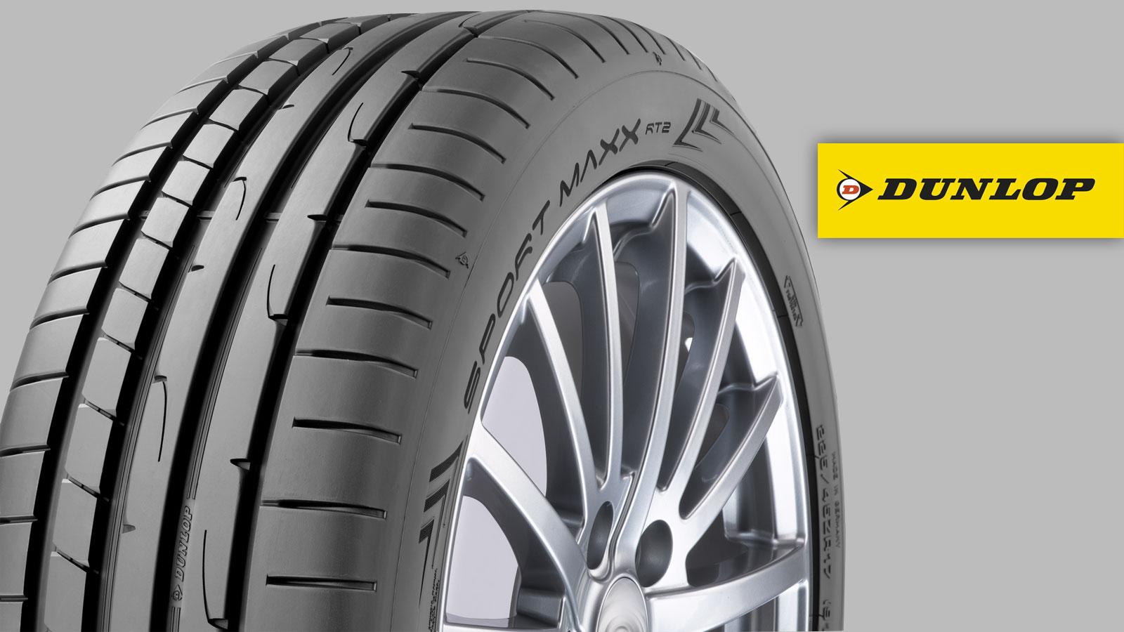 Το ελαστικό Dunlop Sport Maxx RT2 αναδεικνύει όλα τα δυναμικά χαρακτηριστικά του VW Golf GTD