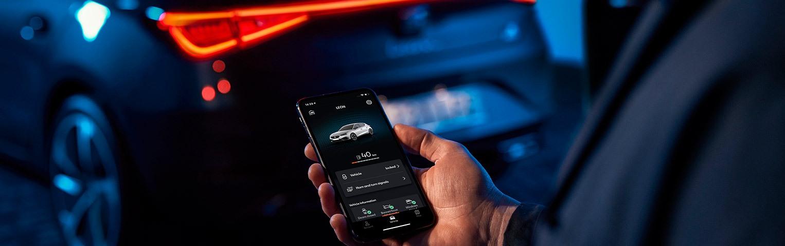 Με το «SEAT CONNECT» μπορείτε να ελέγξετε, να διαχειριστείτε και να απολαύσετε το SEAT σας όπου και αν βρίσκεστε.