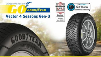 Οι νίκες του Goodyear Vector 4Seasons Gen-3