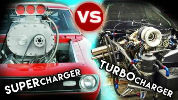 Turbocharger VS Supercharger (vid)