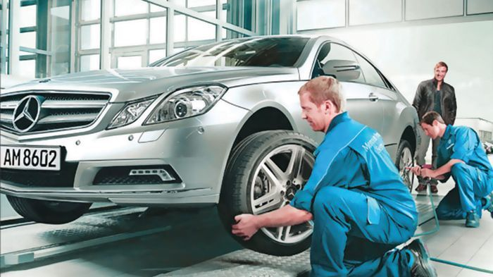 Service mercedes benz for Mercedes benz manhattan service