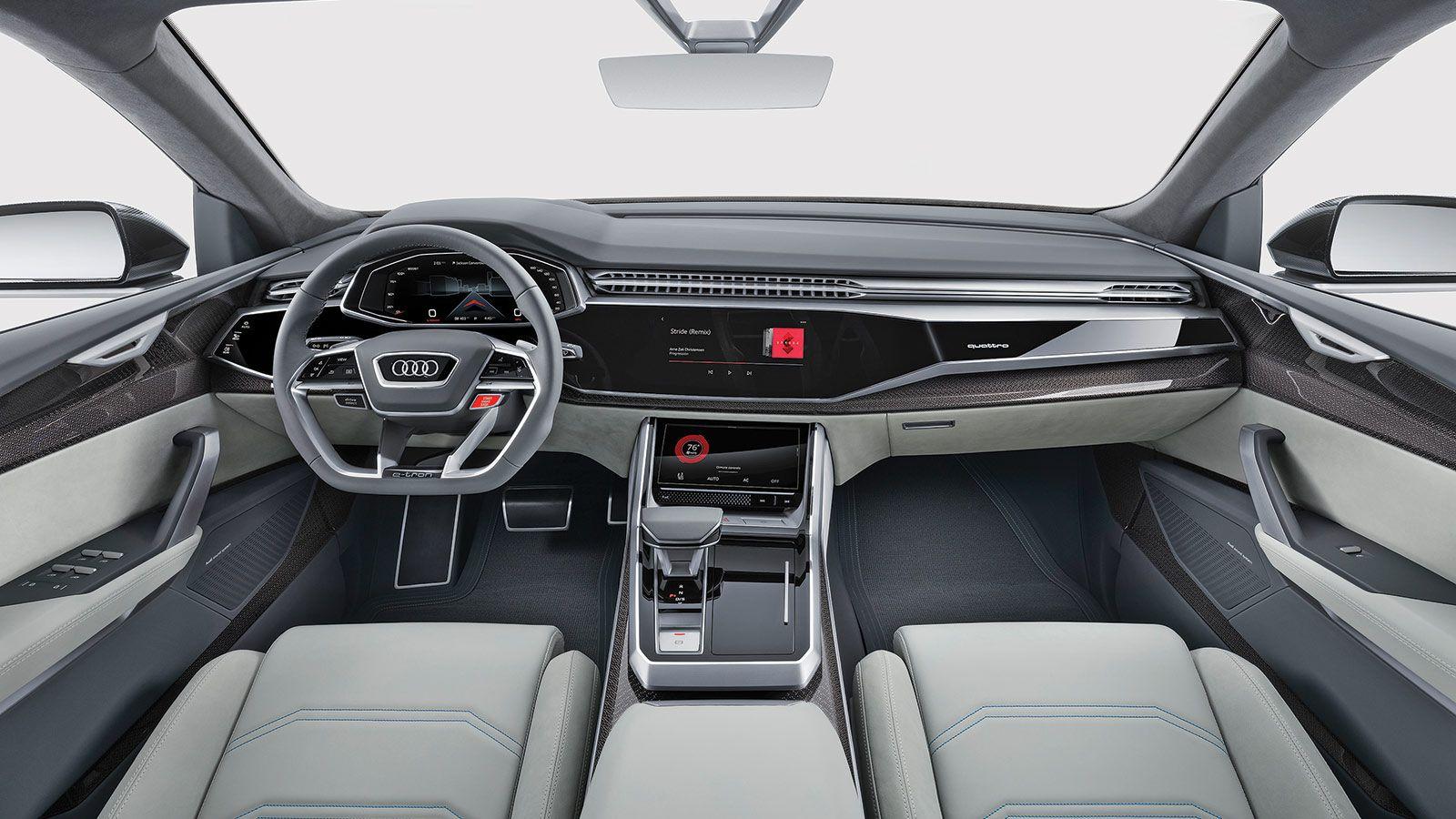 Scoop Audi Q8 Audi Audi Q8