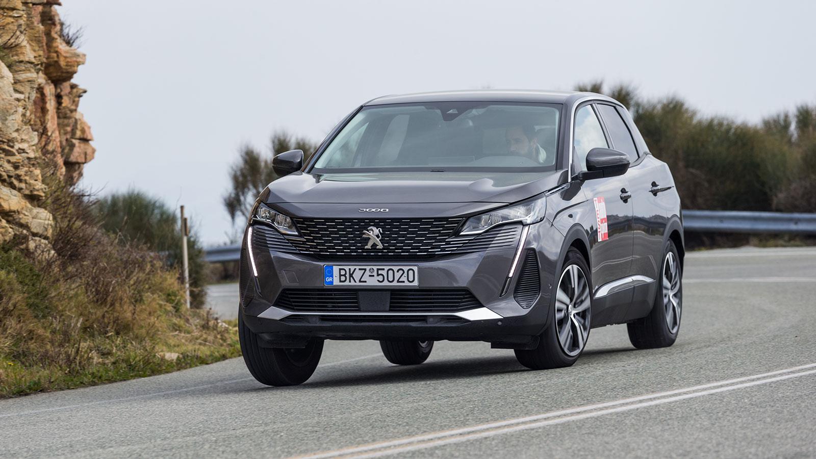 Δοκιμή: Βενζινοκίνητο Peugeot 3008 με 130 PS