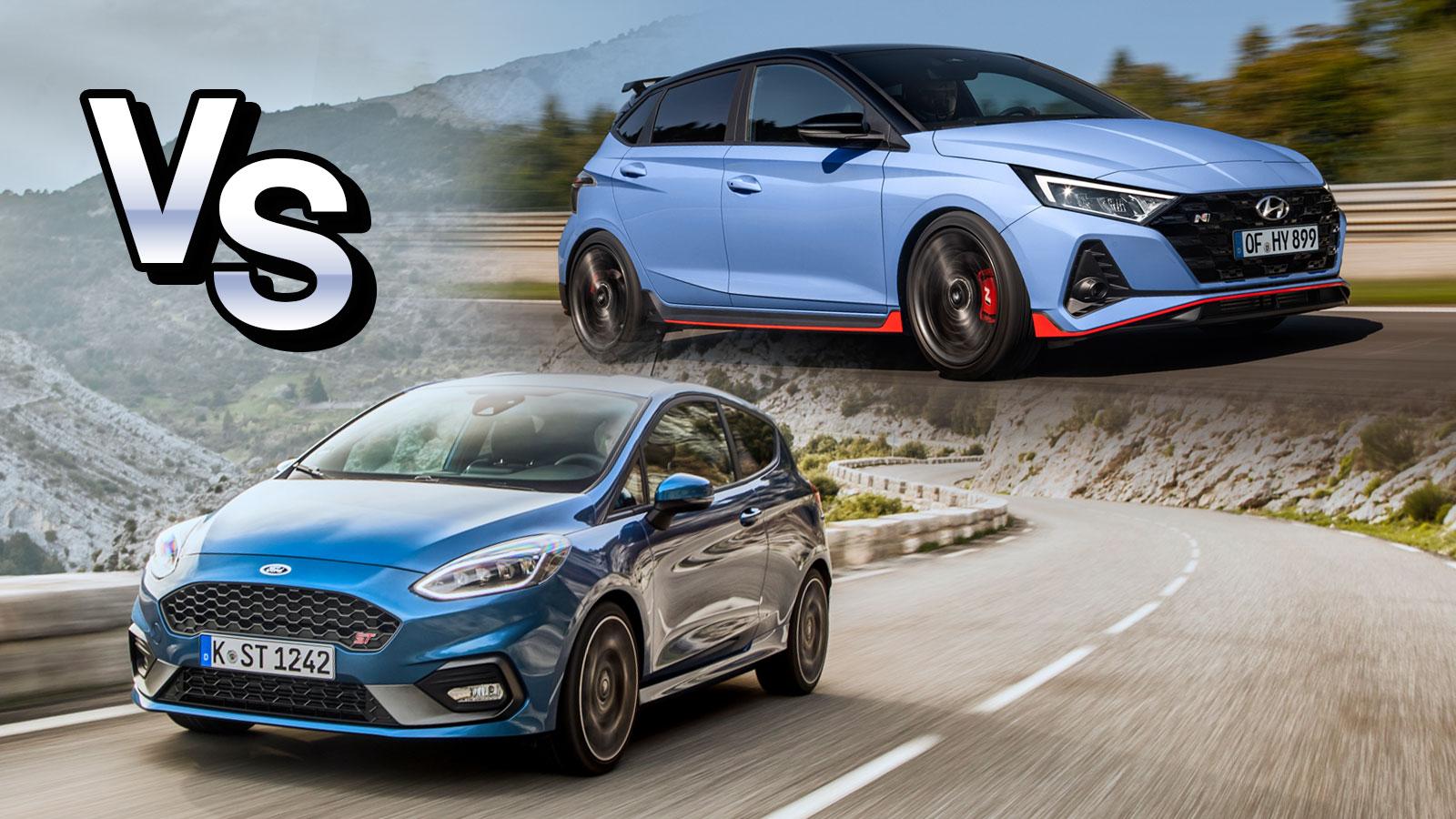 To νέο Hyundai i20 N απέναντι στο Ford Fiesta ST