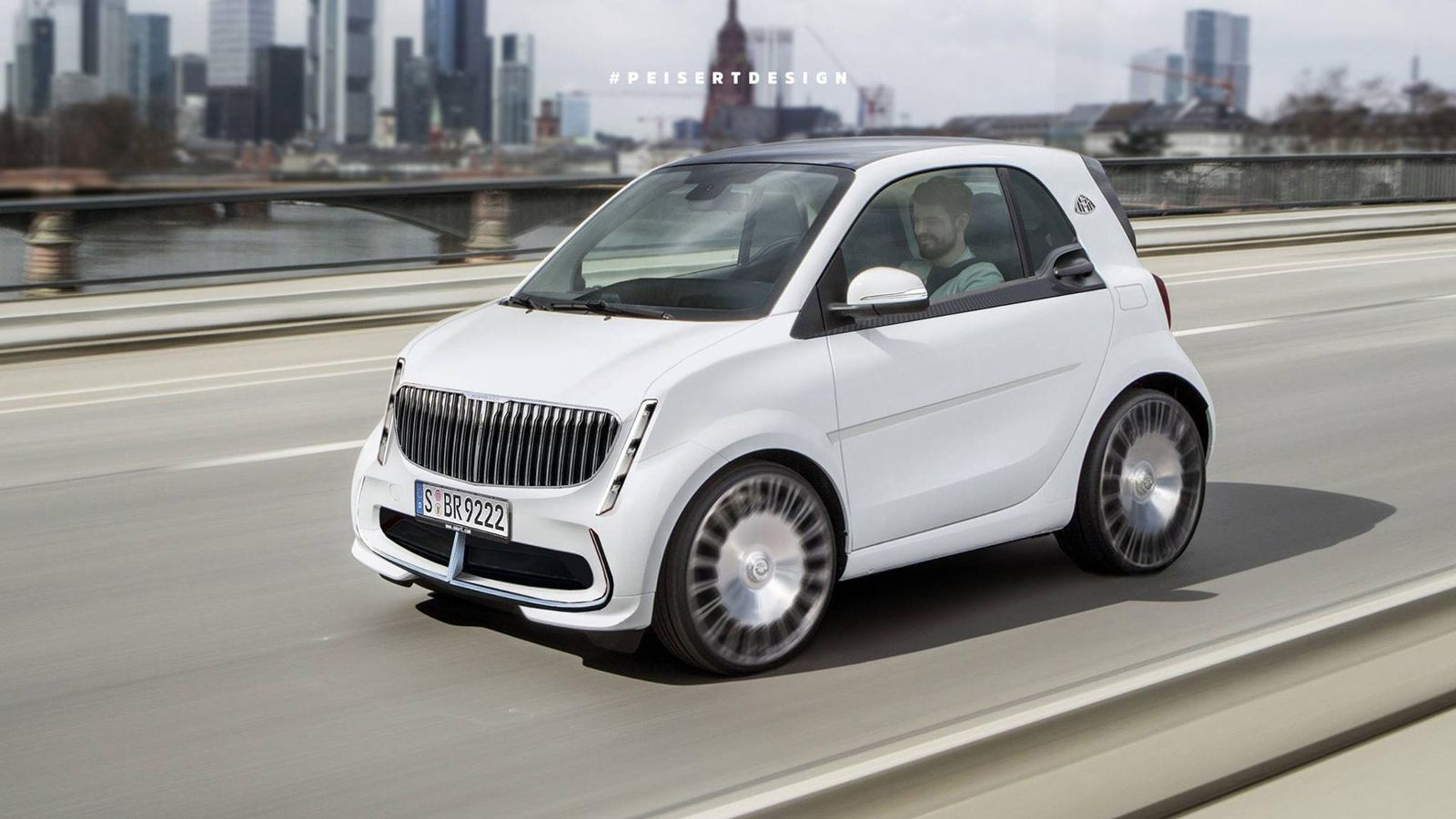 To smart Maybach - smart fortwo coupe