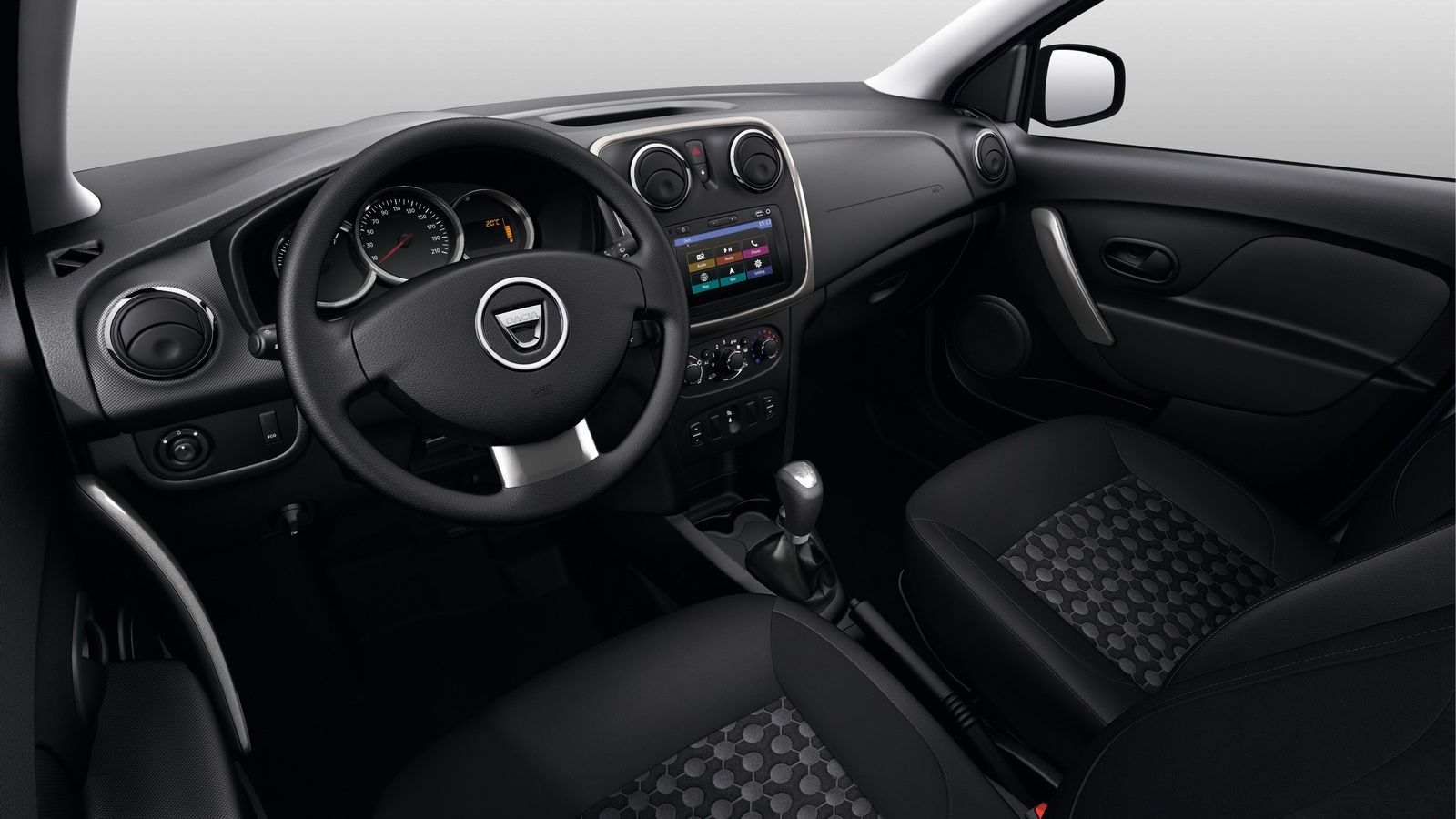 Dacia duster essential dacia duster for Duster interieur