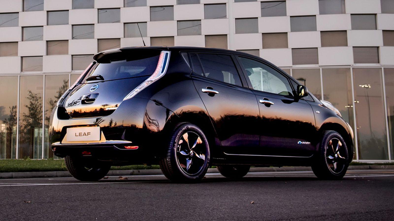 Nissan Leaf Black Edition Nissan