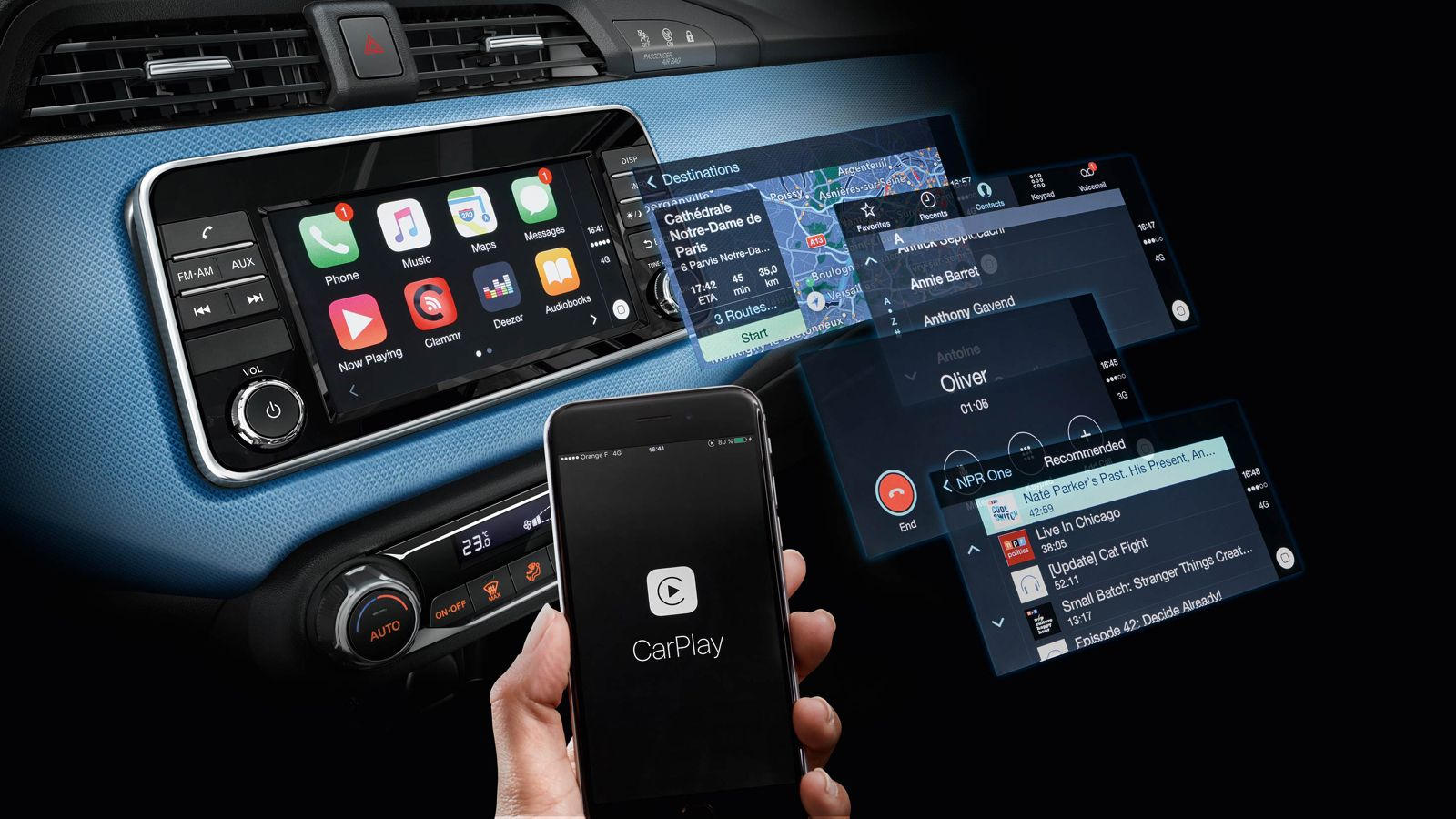 apple carplay nissan micra nissan micra. Black Bedroom Furniture Sets. Home Design Ideas