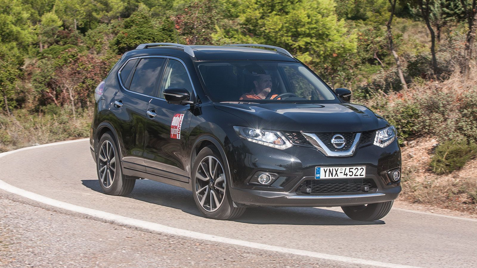 test nissan x trail 1 6 dci x tronic cvt nissan. Black Bedroom Furniture Sets. Home Design Ideas