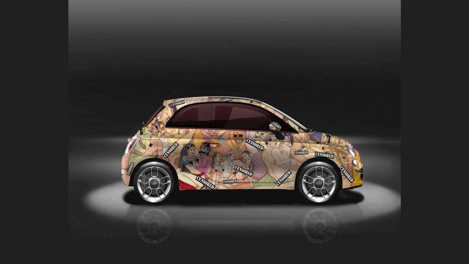 Fiat 500 kama sutra fiat 500 for Fiat 500 karmasutra