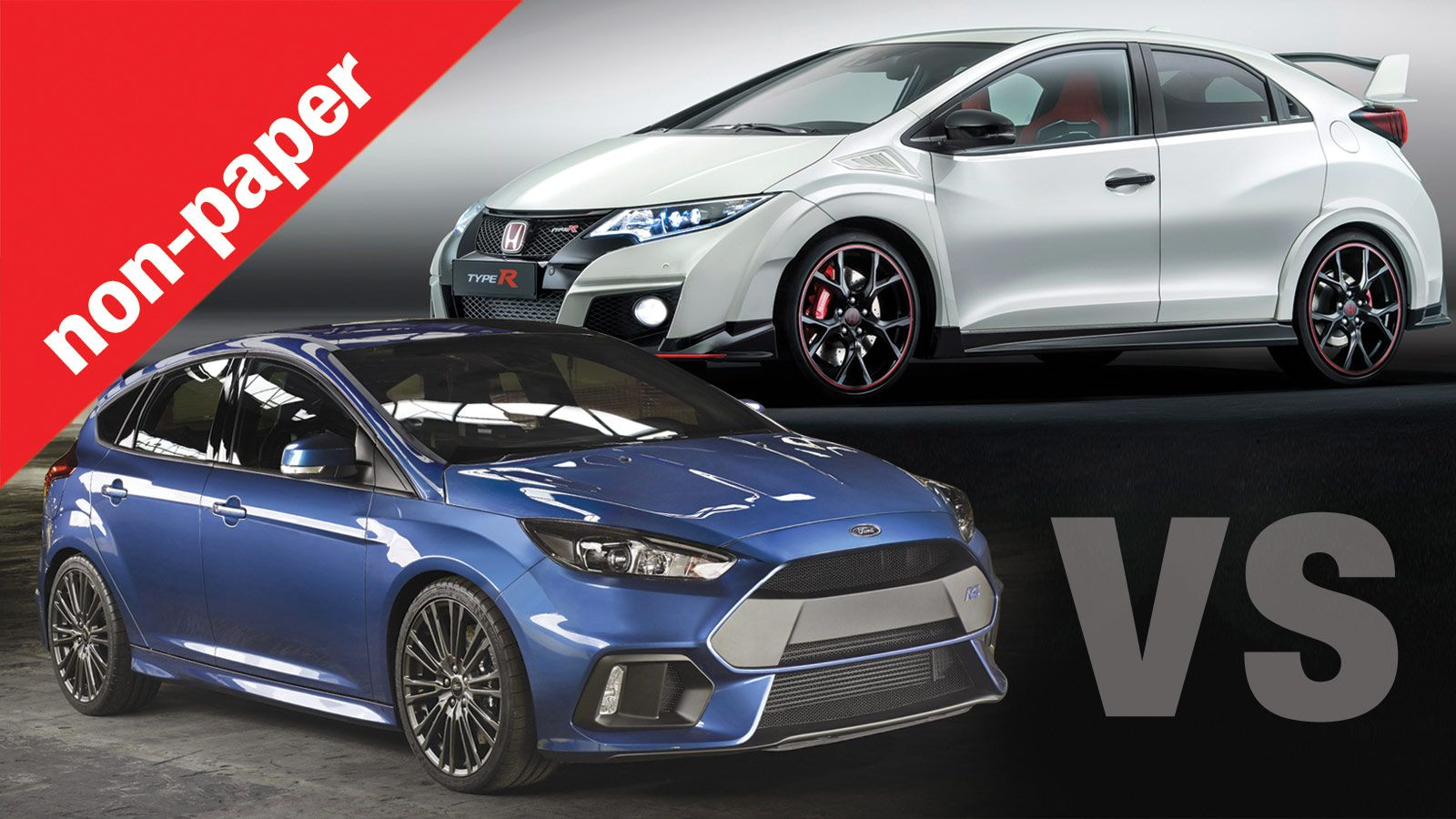 focus rs vs type r. Black Bedroom Furniture Sets. Home Design Ideas