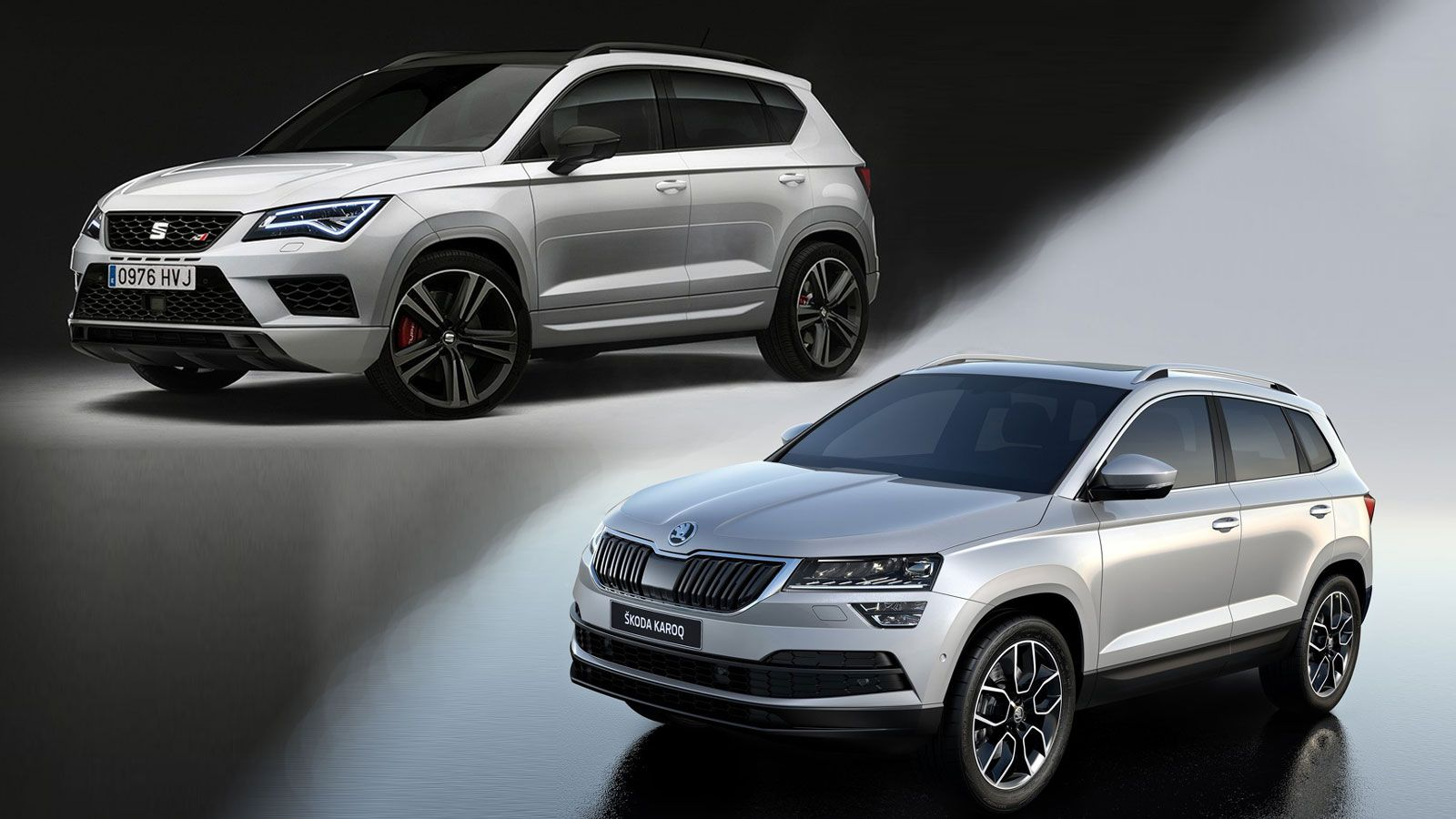karoq rs ateca cupra skoda. Black Bedroom Furniture Sets. Home Design Ideas