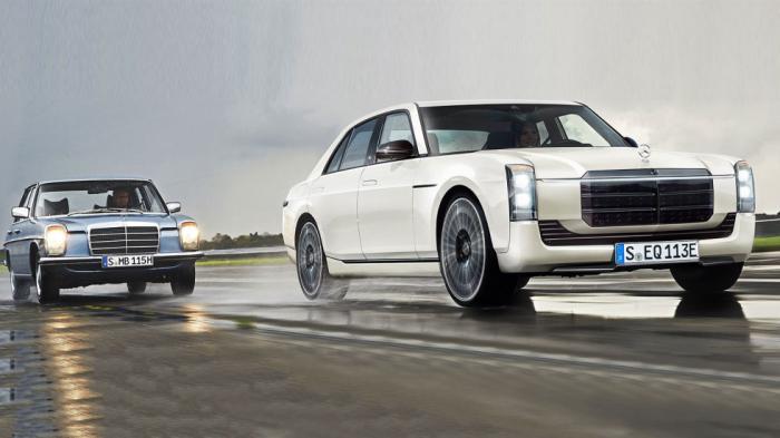 EQW: Η «σωστή» ηλεκτρική Mercedes με άρωμα από 60΄s