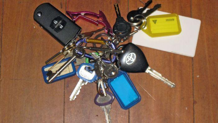 Τα μπρελόκ με πολλά κλειδιά μπορούν να προκαλέσουν μεγάλη ζημιά στο αυτοκίνητό σας