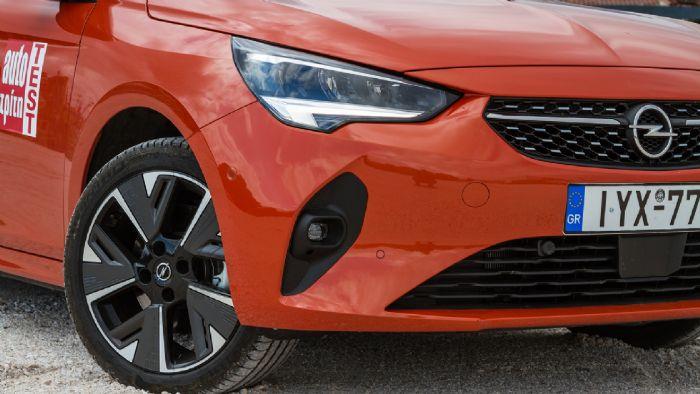 Tο ηλεκτρικό Opel Corsa-e δεν διαφέρει ουσιαστικά από τις συμβατικές εκδόσεις .
