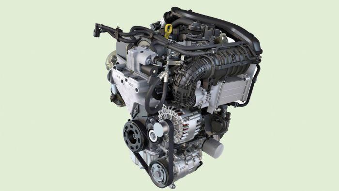 Κινητήρας κύκλου Miller φυσικού αερίου του γκρούπ VW, 1.5 TGI.
