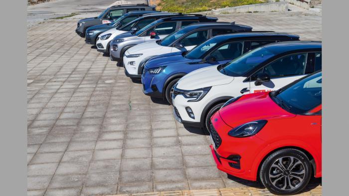 Τα B-SUV είναι η πιο hot κατηγορία και παράλληλα αυτή με  τις περισσότερες επιλογές σε διαφορετικά συστήματα τροφοδοσίας.