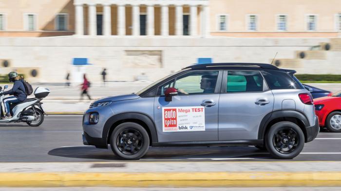 Στην αστική διαδρομή μέσα από το κέντρο της Αθήνας και τους πηγμένους δρόμους της πόλης, το γαλλικό SUV κατέγραψε 7,8 λτ./100 χλμ., νούμερο καλό για τέτοιο περιβάλλον.