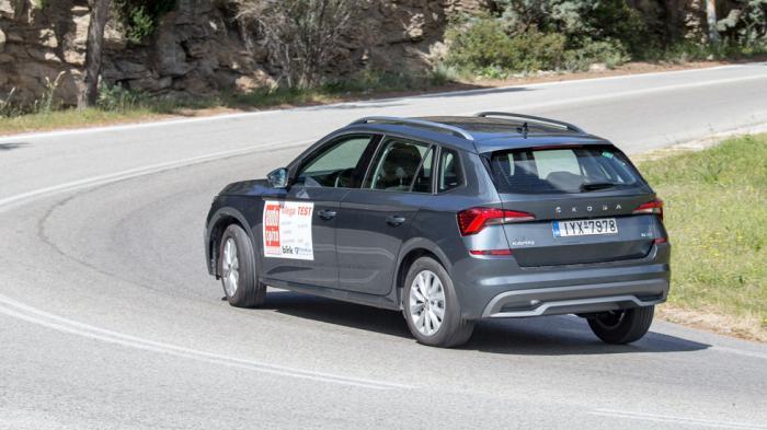 Το Skoda Kamiq εκμεταλλεύεται τη χαμηλή του κατανάλωση αλλά και την χαμηλή τιμή του CNG ως καύσιμο (σ.σ. 0.834 ευρώ/κιλό) για να αποτελέσει το πιο συμφέρον στη χρήση αυτοκίνητο της κατηγορίας σε αυτή του την έκδοση.
