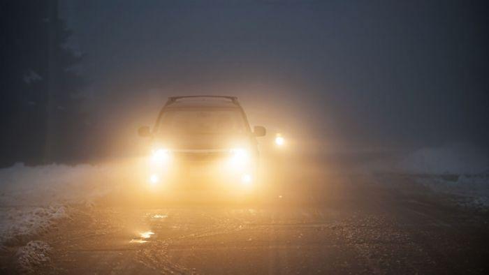 Οδήγηση στην ομίχλη