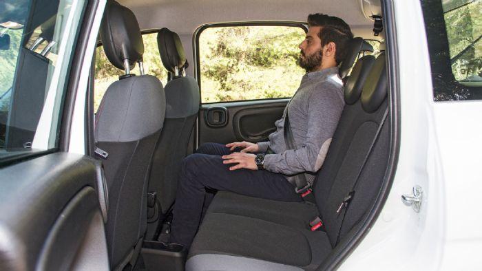 Η απτή αίσθηση που λαμβάνουν οι επιβάτες εμπρός και πίσω είναι σημαντική. Στο Fiat Panda με τις μεμβράνες δεν αισθάνεσαι να σε καίει ο ήλιος από το πλάι. Εμείς αλλάξαμε συχνά θέσεις για να αντιληφθούμε τις πραγματικές διαφορές.