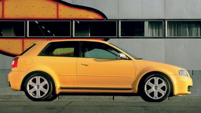 Τόσο η πρώτη γενιά του Audi S3 με τους 210 και 225 ίππους, όσο και το ΤΤ, ήταν μέλη της οικογένειας «1.8T 20v».