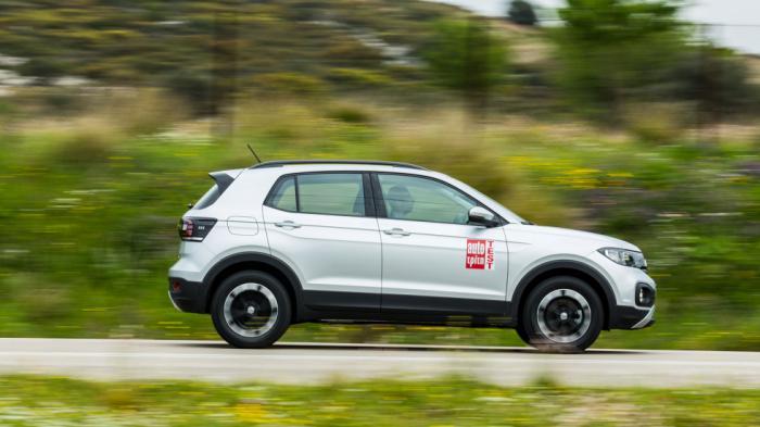 Ο 3κύλινδρος 1,0 TSI στην εκδοχή των 95 ίππων, δεν υπόσχεται να βάλει φωτιά στην άσφαλτο, όμως κινεί ικανοποιητικά και οικονομικά το SUV της Volkswagen.