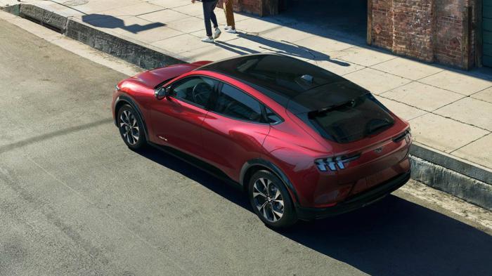 Η Mustang Mach-E GT προβλέπεται να ολοκληρώνει την επιτάχυνση 0 -100 χλμ/ώρα σε χρόνο μικρότερο των 5 δλ..