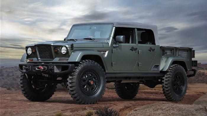 Το pick-up της Jeep