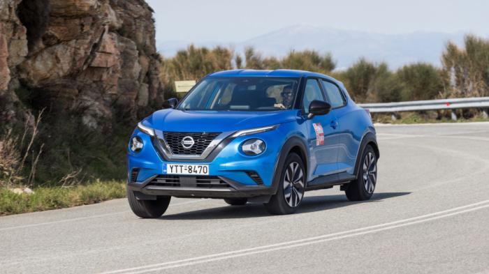 Το Nissan Juke στην τελευταία του γενιά συνεχίζει να αποτελεί ένα eye catching αυτοκίνητο.