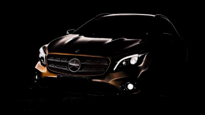 Mercedes GLA 2018: teaser photo - mercedes gla