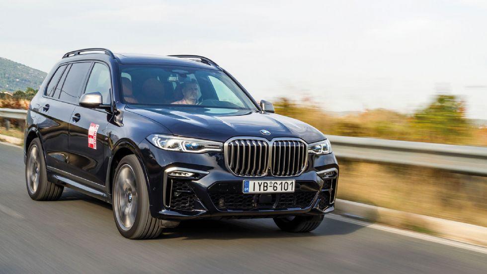 Δοκιμή: BMW X7 M50d