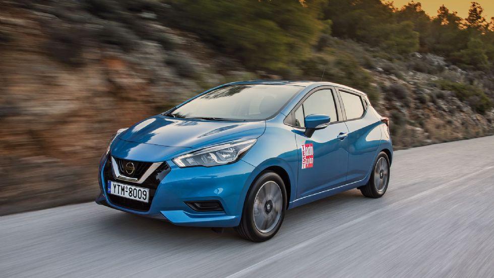 Δοκιμή: Nissan Micra 1,0 λτ. turbo με 100 PS