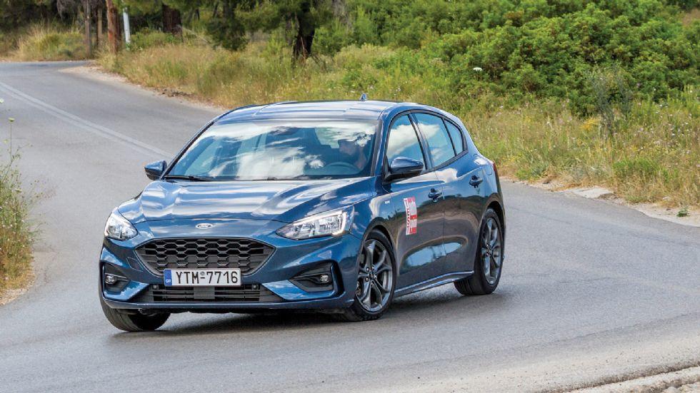 Δοκιμή: Ford Focus 1,5λτ. ST-Line