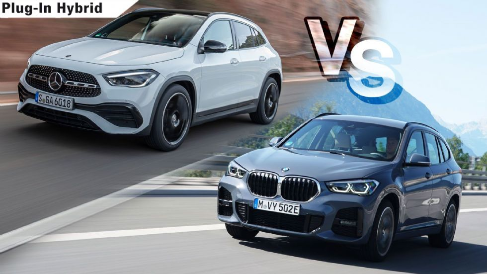 BMW X1 xDrive25e VS Mercedes GLA 250 e