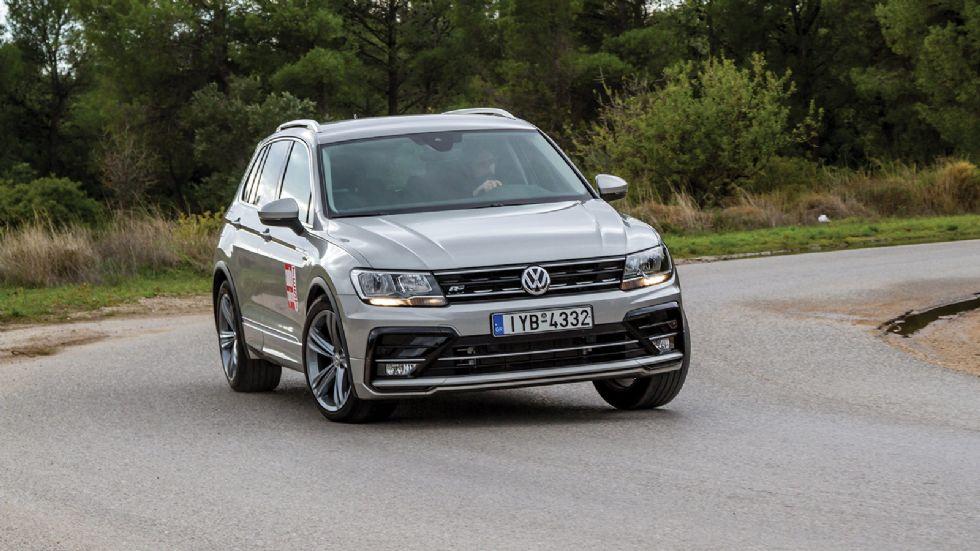 Δοκιμή: VW Tiguan στη βασική του