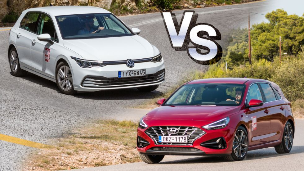 Hyundai i30 Vs Volkswagen Golf