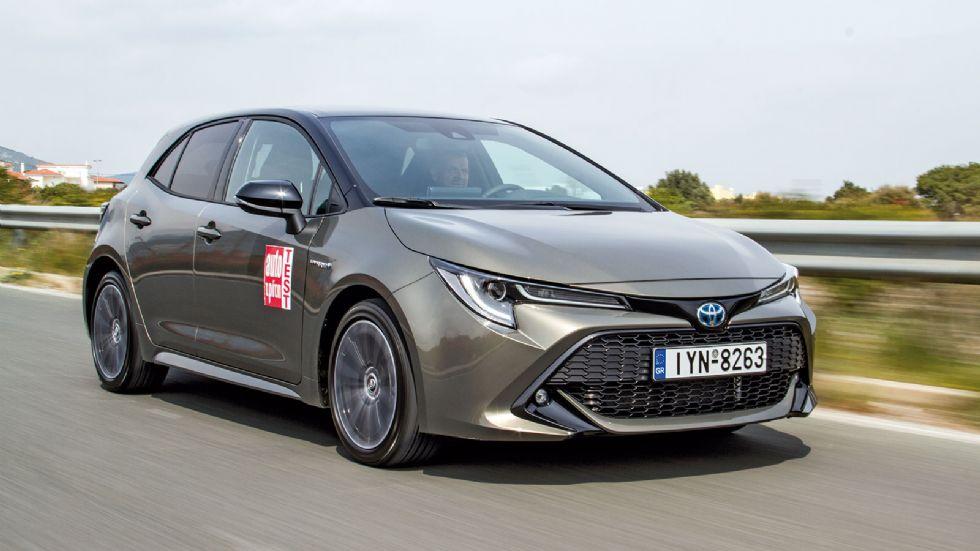 Δοκιμή: Νέα Toyota Corolla Hybrid