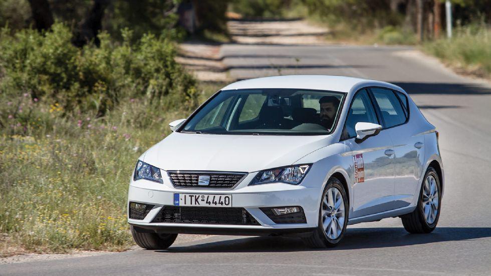 Test: Ανανεωμένο SEAT Leon 1,6 λτ. με 115 PS