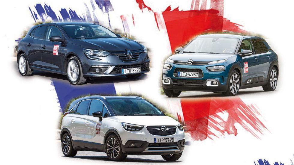 Νέο Citroen C4 Cactus Vs Opel Crossland X Vs Renault Megane