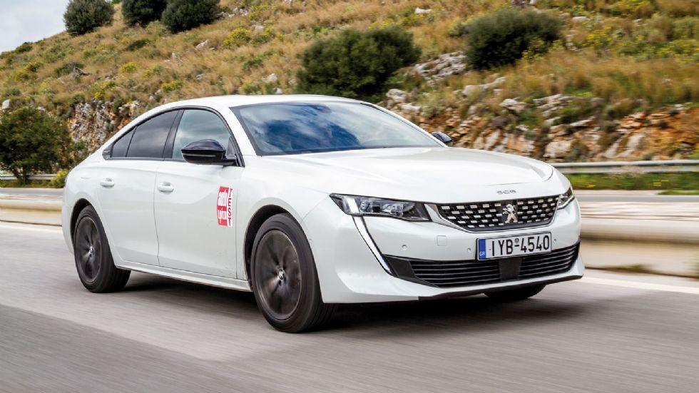 Δοκιμή: Peugeot 508 GT Line