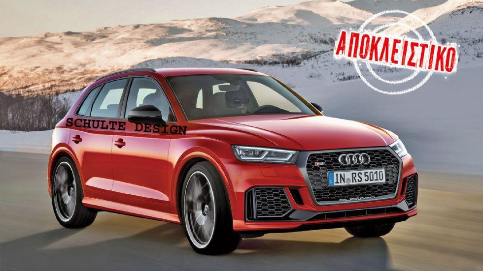 Έρχεται Audi RS Q5 με V6 biturbo & 450 PS