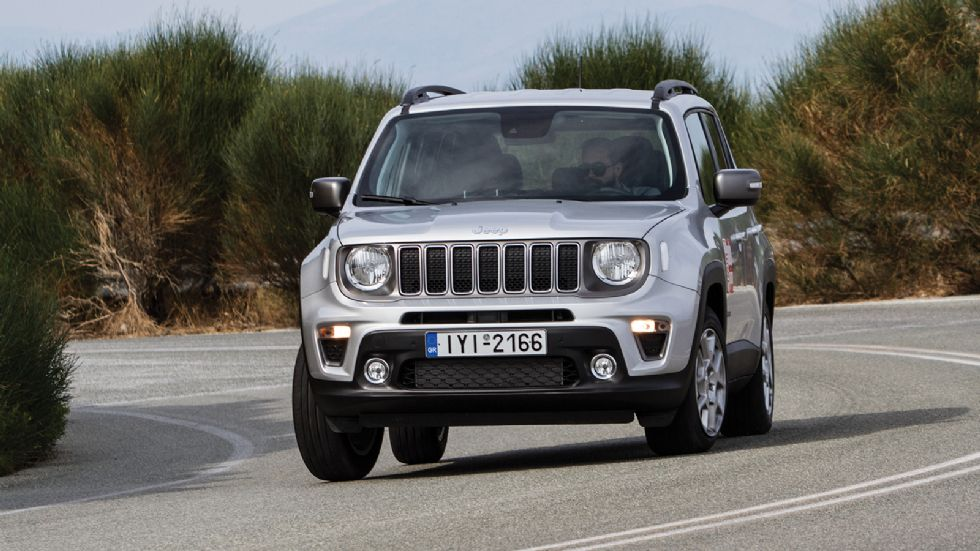 Δοκιμή: Jeep Renegade με 180 PS