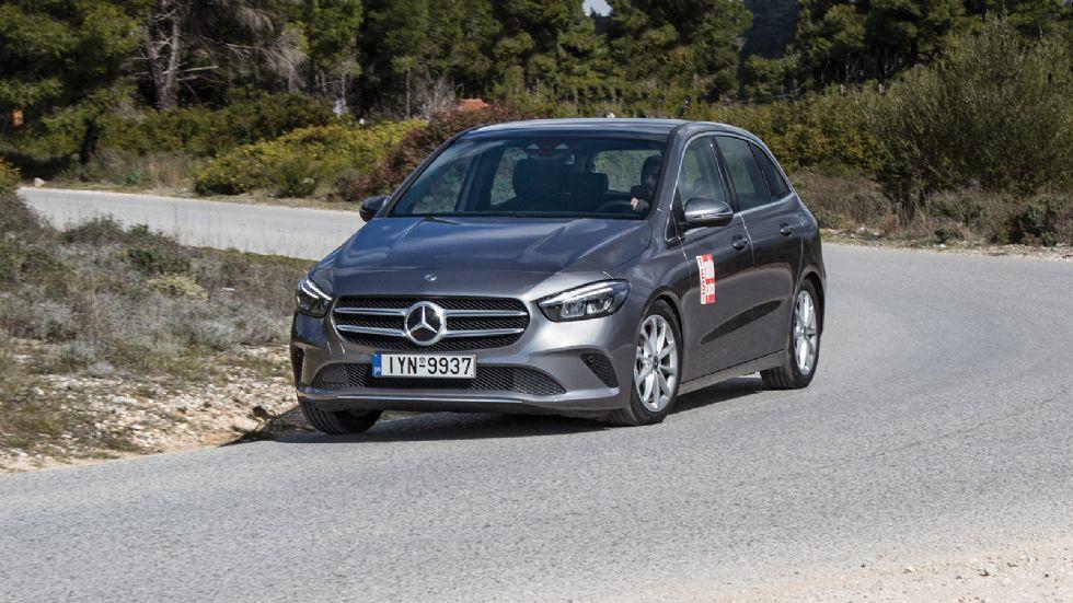 Δοκιμή: Mercedes B 200 d