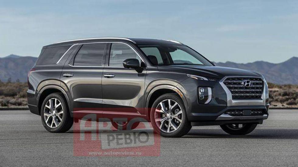 Πρώτη εικόνα του νέου Hyundai Palisade