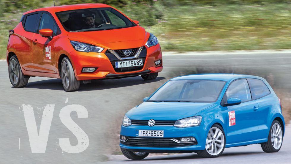 Nissan Micra VS VW Polo