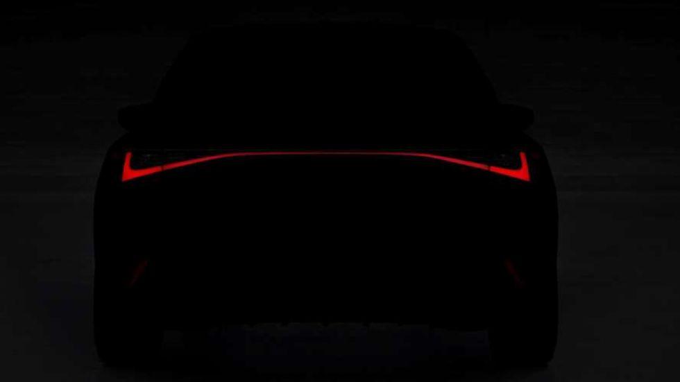 Τeaser της Lexus IS