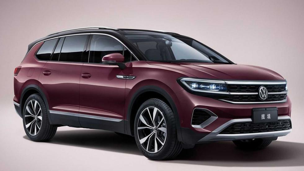 Το τεραστίων διαστάσεων νέο VW Talagon
