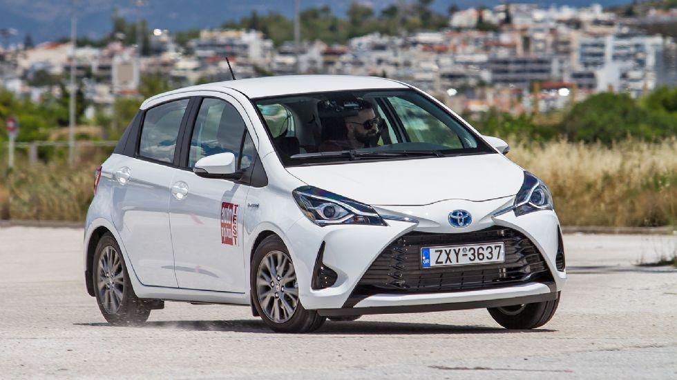 Πρώτη Δοκιμή: Ανανεωμένο Toyota Yaris HSD